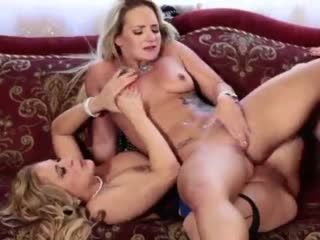 Stepmom Punishes Her Young Teen Slut With Her MILF Boss